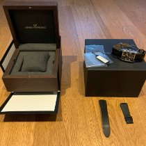 Girard Perregaux Vintage 1945 occasion 37mm Noir Chronographe Date Cuir