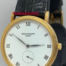 Patek Philippe 3919 Yellow gold 1991 Calatrava 33mm pre-owned