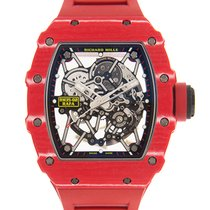 Richard Mille RM 035 Koolstof 44.5mm Doorzichtig
