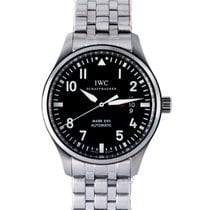 IWC Pilot Mark Steel 41.00mm Black United States of America, California, Burlingame