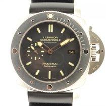 Panerai Luminor Submersible Pam 389 Titanium Amagnetic 47mm...