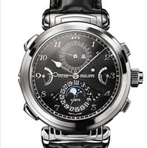 Patek Philippe Grandmaster Chime White gold 47.4mm Black Arabic numerals