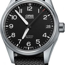 Oris Big Crown ProPilot Date Steel Black United States of America, New York, Brooklyn