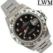 Rolex Explorer 16550 black  color Rail Spider dial 1984