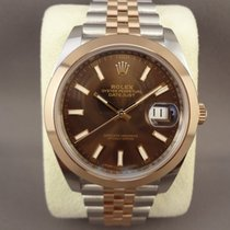 Rolex Datejust II 126301 steel/pink gold Chocolate/Jubilee
