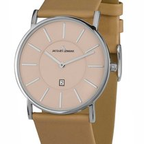 Jacques Lemans 1-1620I York Saphirglas Herren 39mm 5ATM