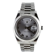 Rolex Day-Date Discontinued Model II  White Gold