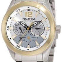 Nautica Men's N18624G Classic Coin / NCS 650 Steel Chronograph...