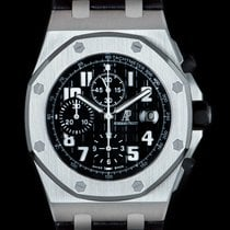 Audemars Piguet Royal Oak Offshore Chronograph Acero 42mm Negro Árabes
