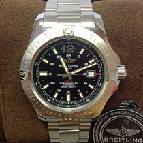 Breitling Colt Automatic A17388 Black Dial 44mm - Box & Papers...