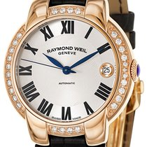 Raymond Weil Jasmine Automatic Rose Gold Steel Womens Watch...