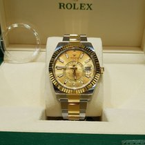 Rolex Sky-Dweller champagne dial