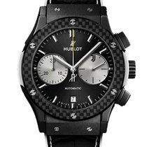 Hublot Carbon Automatic Black 45mm new Classic Fusion Chronograph