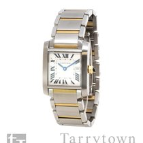 Cartier Tank Française Gold/Steel 25mm Champagne Roman numerals United States of America, New York, Hartsdale