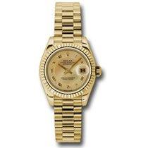 Rolex Lady-Datejust Gelbgold 26mm Römisch