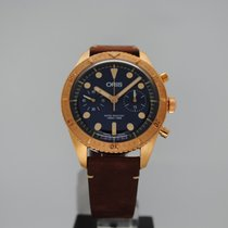 Oris Carl Brashear new 2019 Automatic Chronograph Watch with original box and original papers 01 771 7744 3185-Set LS