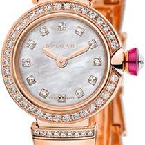 Bulgari Relógio de senhora Lucea 23mm Quartzo novo Relógio com caixa e documentos originais 2017