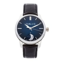 H.Moser & Cie. 41mm Manual winding pre-owned Endeavour Blue