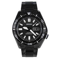 Seiko Steel 44mm Automatic SKZ329K1 new