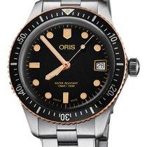 Oris Divers Sixty Five Zeljezo 36mm Crn