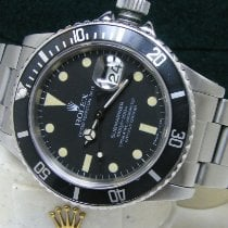Rolex Submariner Date pre-owned 40mm Black Date Perpetual calendar Steel