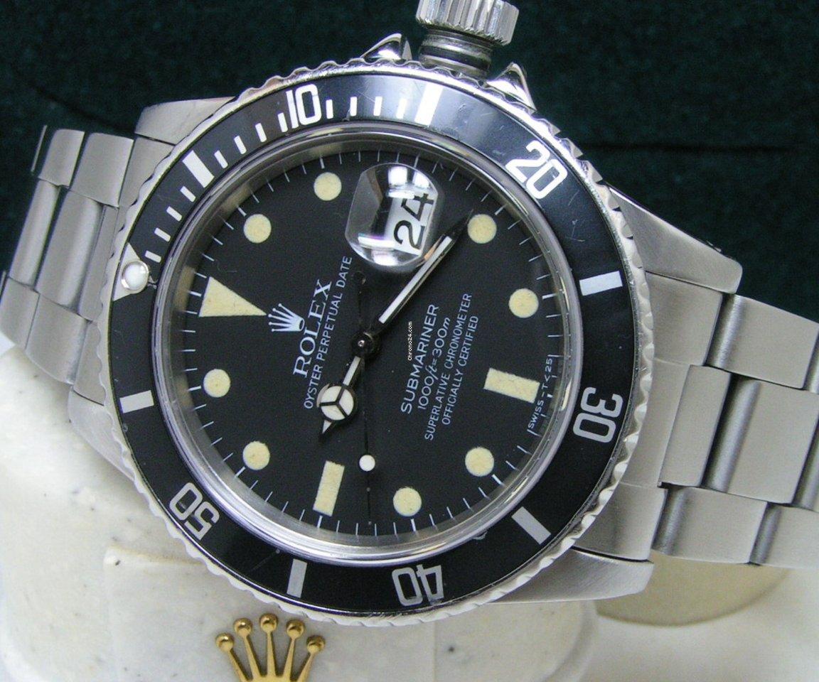 Rolex Submariner Date 16800 Matte Dial Atocha Treasure Box Papers