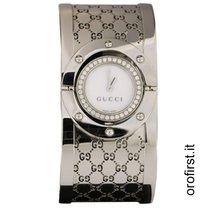Gucci Acciaio 23mm Quarzo YA112416 usato Italia, roma