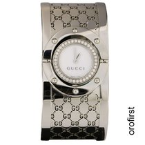 Gucci Twirl Acero 23mm Blanco