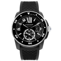 Cartier Calibre de Cartier Diver Steel 42mm Black Roman numerals United States of America, Georgia, Atlanta
