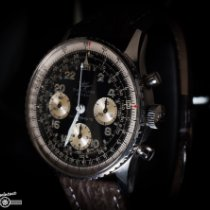 Breitling Navitimer Cosmonaute Acero 41mm Negro Árabes
