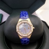Audemars Piguet Royal Oak Lady Oro amarillo 28mm Madreperla Sin cifras