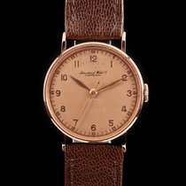 IWC Good Rose gold 33mm Manual winding United States of America, Connecticut, Stamford