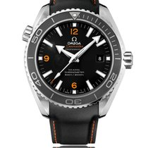 Omega Seamaster Planet Ocean Steel Black