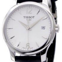 Tissot Tradition Staal 33mm Wit