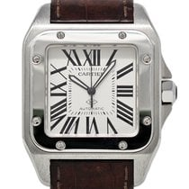 Cartier Santos 100 Steel 51mm White United States of America, Florida, 33132