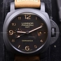Panerai Keramik Automatik 44mm neu Luminor 1950 3 Days GMT Automatic