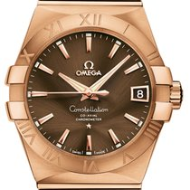 Omega Rose gold Automatic 38mm new Constellation Men