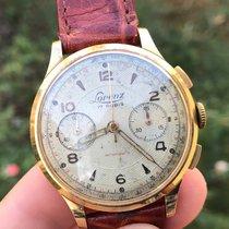 Lorenz Chronographe Cronografo Chronograph Oro 18kt Gold manual