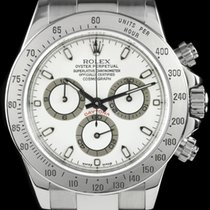 Rolex Daytona 116520 White Dial With Box & Papers