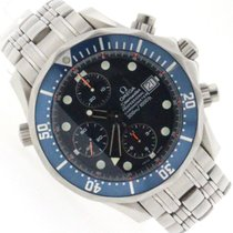Omega Seamaster Chronograph 42MM Blue Dial Steel Automatic...