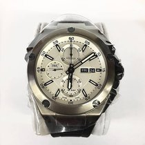IWC Ingenieur Double Chronograph Titanium Titanium 45mm Silver No numerals United States of America, New York, New York