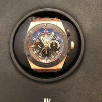 Hublot Oro rojo Automático Gris Sin cifras 48mm usados King Power