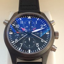 IWC - Pilot Top Gun Double Chronograph Ceramic - IW379901 -...