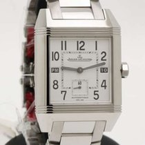 Jaeger-LeCoultre Reverso Squadra GMT Hometime  white dial -...