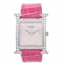 Hermès Stainless Steel Heure H Ladies Watch