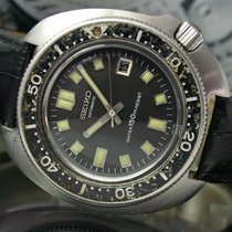 Seiko 6105 B - 8110 T Automatic 150m Date Sports Diver's Watch
