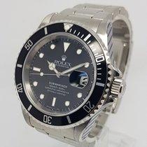 Rolex Submariner Date 40mm Mens Steel Watch 1996 Full Set