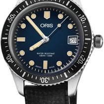Oris Divers Sixty Five Steel 36mm Blue United States of America, New York, Airmont