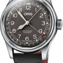 Oris Big Crown Pointer Date Steel 40mm Black United States of America, New York, Airmont
