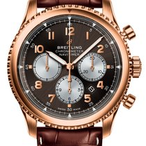 Breitling Rose gold Automatic 43mm new Navitimer 8